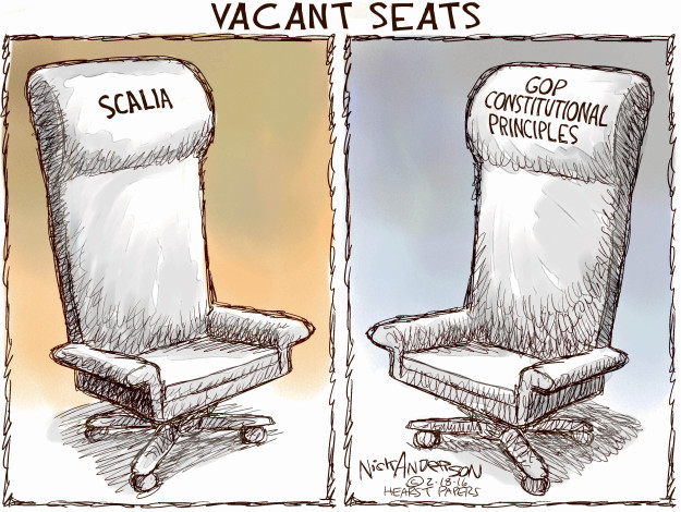 Nick Anderson  Nick Anderson's Editorial Cartoons 2016-02-18 Constitution