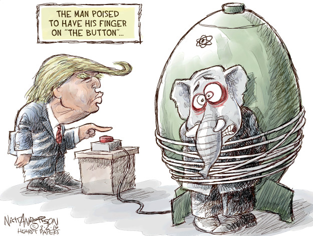 Nick Anderson  Nick Anderson's Editorial Cartoons 2016-03-02 atomic bomb
