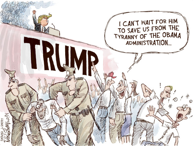 Nick Anderson  Nick Anderson's Editorial Cartoons 2016-03-17 Obama administration