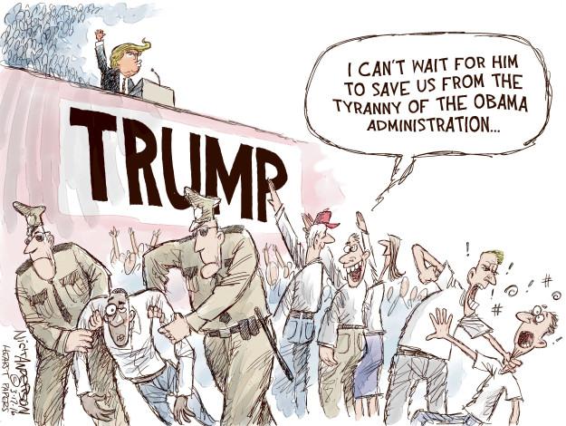 Cartoonist Nick Anderson  Nick Anderson's Editorial Cartoons 2016-03-17 Barack Obama