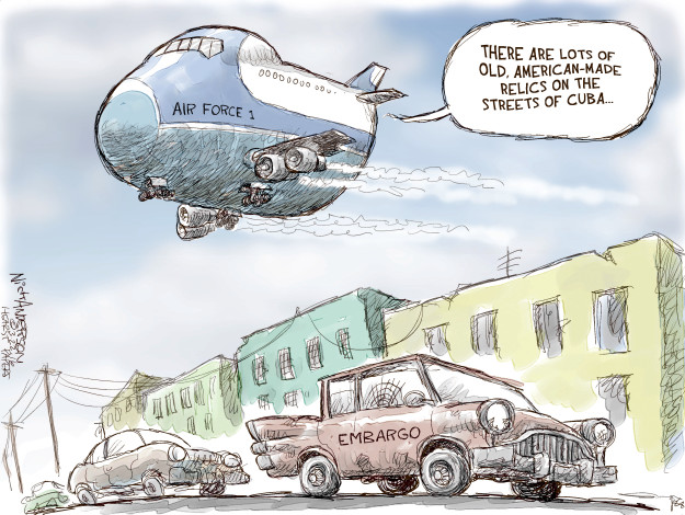 Nick Anderson  Nick Anderson's Editorial Cartoons 2016-03-22 Air Force One