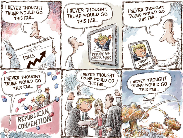Cartoonist Nick Anderson  Nick Anderson's Editorial Cartoons 2016-03-30 political convention