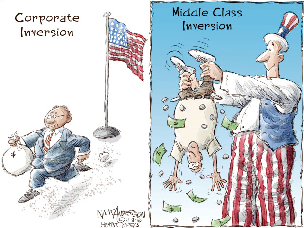 Cartoonist Nick Anderson  Nick Anderson's Editorial Cartoons 2016-04-08 tax
