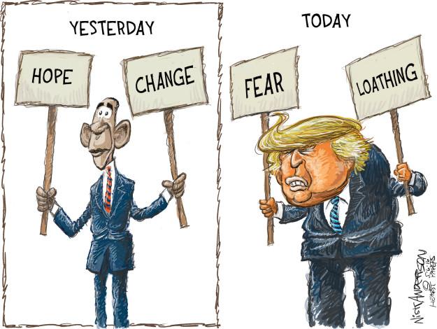 Cartoonist Nick Anderson  Nick Anderson's Editorial Cartoons 2016-05-06 2008 election