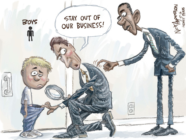 Cartoonist Nick Anderson  Nick Anderson's Editorial Cartoons 2016-05-16 civil liberty