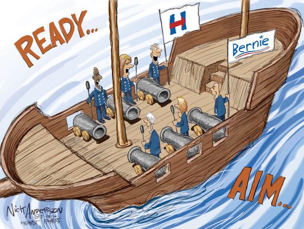 Cartoonist Nick Anderson  Nick Anderson's Editorial Cartoons 2016-05-18 primary election