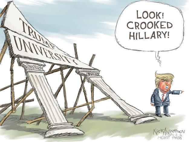 Nick Anderson  Nick Anderson's Editorial Cartoons 2016-06-02 distraction