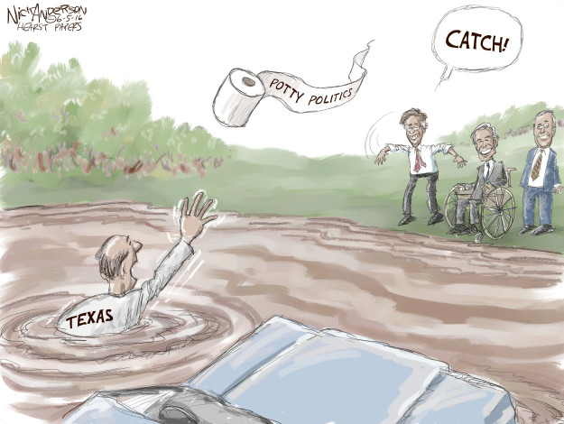 Nick Anderson  Nick Anderson's Editorial Cartoons 2016-06-05 religious freedom