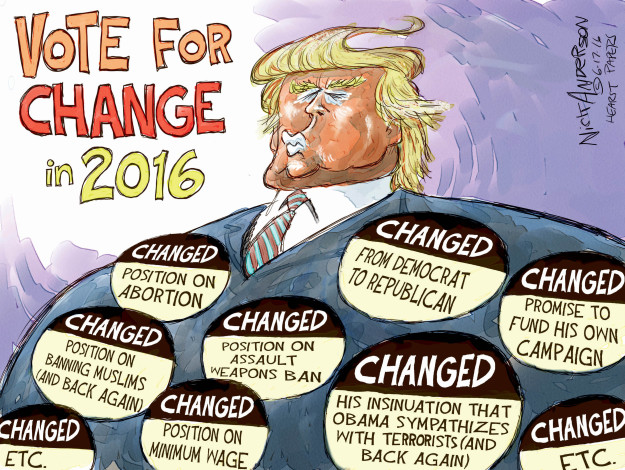 Cartoonist Nick Anderson  Nick Anderson's Editorial Cartoons 2016-06-17 Barack Obama