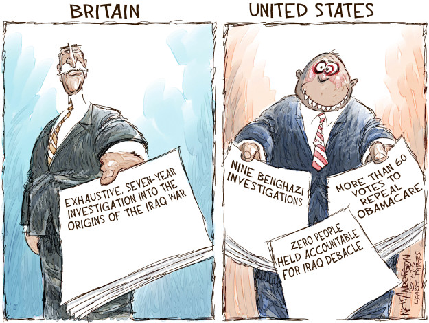 Nick Anderson  Nick Anderson's Editorial Cartoons 2016-07-07 health care repeal