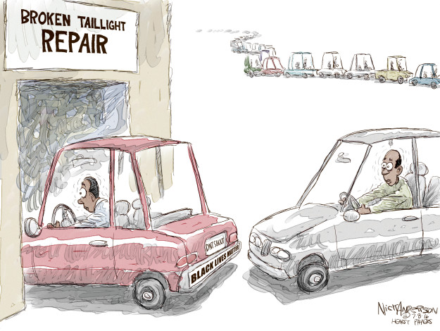 Cartoonist Nick Anderson  Nick Anderson's Editorial Cartoons 2016-07-08 automobile