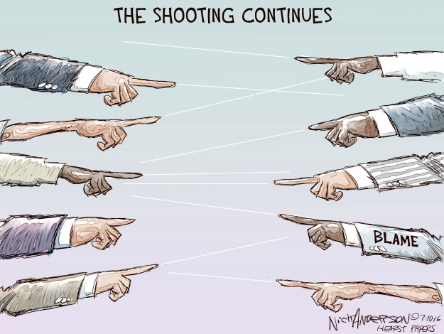 Cartoonist Nick Anderson  Nick Anderson's Editorial Cartoons 2016-07-10 rights