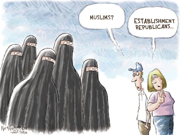 Cartoonist Nick Anderson  Nick Anderson's Editorial Cartoons 2016-08-03 2016 election