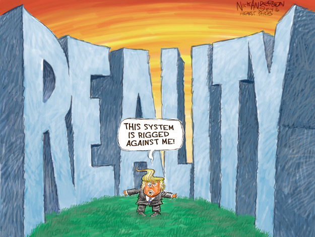 Cartoonist Nick Anderson  Nick Anderson's Editorial Cartoons 2016-08-04 presidential candidate