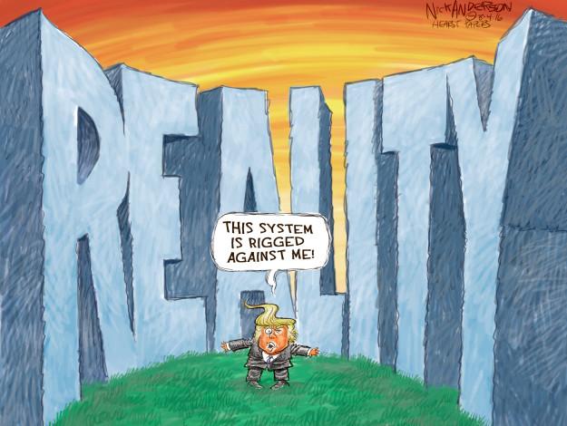 Cartoonist Nick Anderson  Nick Anderson's Editorial Cartoons 2016-08-04 2016 election