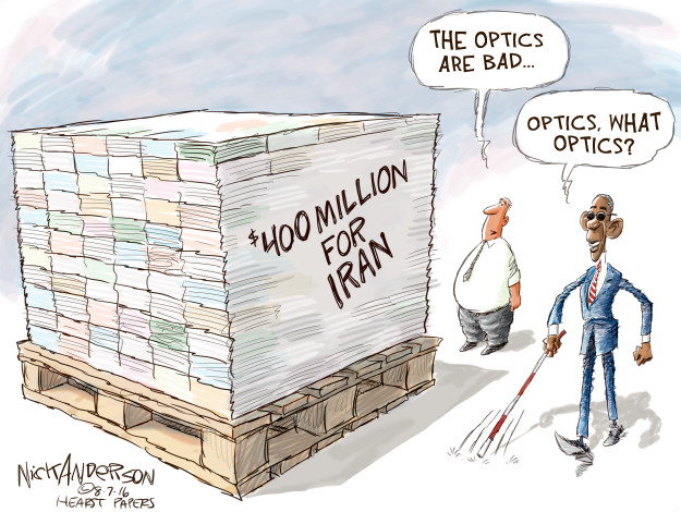 Cartoonist Nick Anderson  Nick Anderson's Editorial Cartoons 2016-08-07 million