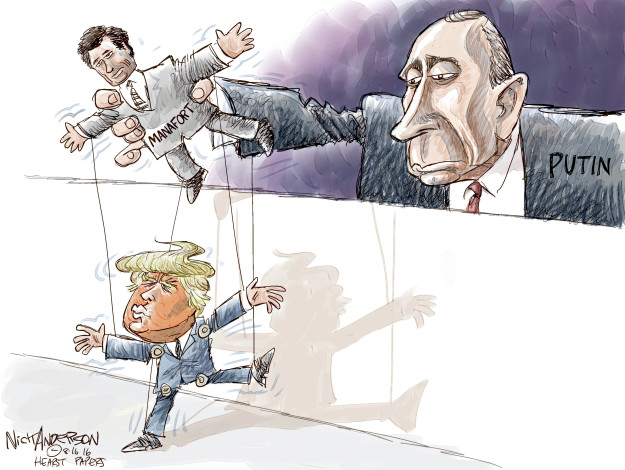 Cartoonist Nick Anderson  Nick Anderson's Editorial Cartoons 2016-08-16 presidential candidate