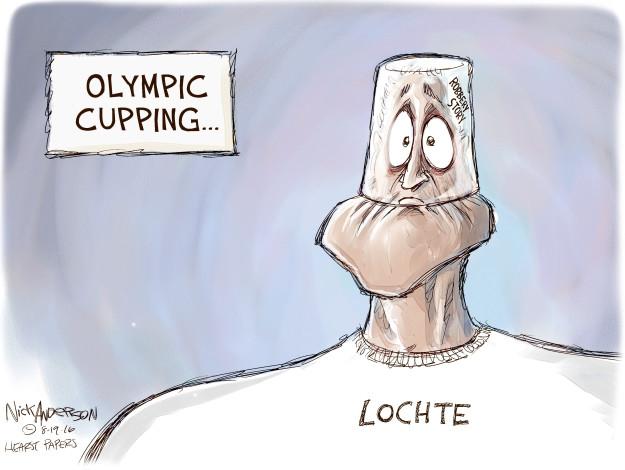 Nick Anderson  Nick Anderson's Editorial Cartoons 2016-08-19 Olympics