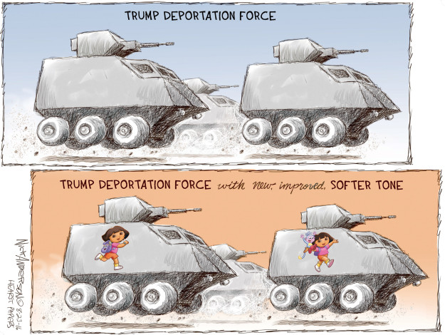 Cartoonist Nick Anderson  Nick Anderson's Editorial Cartoons 2016-08-23 presidential candidate