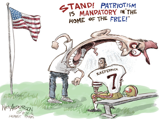 Nick Anderson  Nick Anderson's Editorial Cartoons 2016-08-31 racism