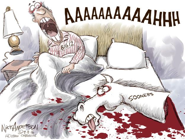 Cartoonist Nick Anderson  Nick Anderson's Editorial Cartoons 2016-09-08 football