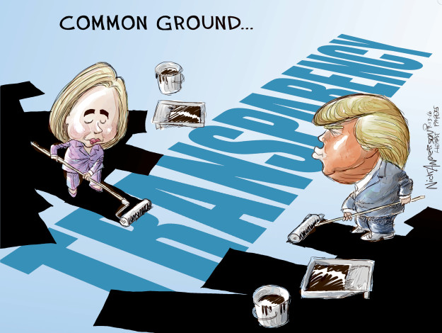 Common ground … Transparency.