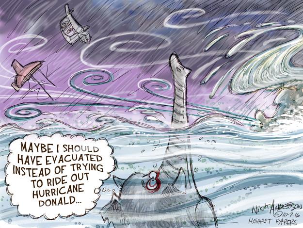 Cartoonist Nick Anderson  Nick Anderson's Editorial Cartoons 2016-10-07 Donald