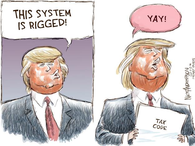 Cartoonist Nick Anderson  Nick Anderson's Editorial Cartoons 2016-11-03 Donald