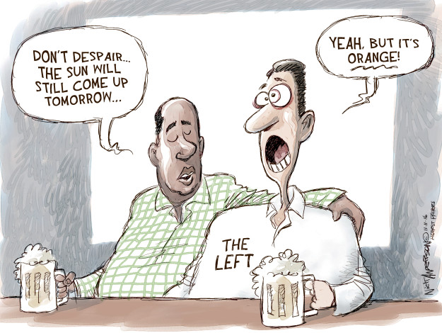Cartoonist Nick Anderson  Nick Anderson's Editorial Cartoons 2016-11-11 candidate