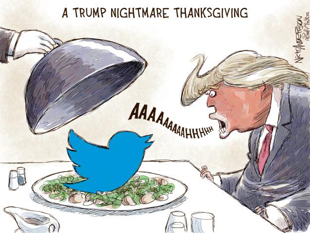 Cartoonist Nick Anderson  Nick Anderson's Editorial Cartoons 2016-11-23 Donald