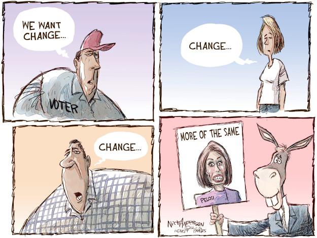 Cartoonist Nick Anderson  Nick Anderson's Editorial Cartoons 2016-12-01 political party