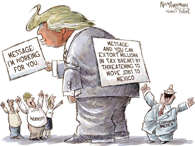Cartoonist Nick Anderson  Nick Anderson's Editorial Cartoons 2016-12-02 tax