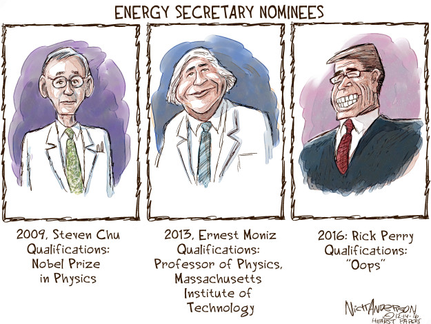 Cartoonist Nick Anderson  Nick Anderson's Editorial Cartoons 2016-12-14 Perry