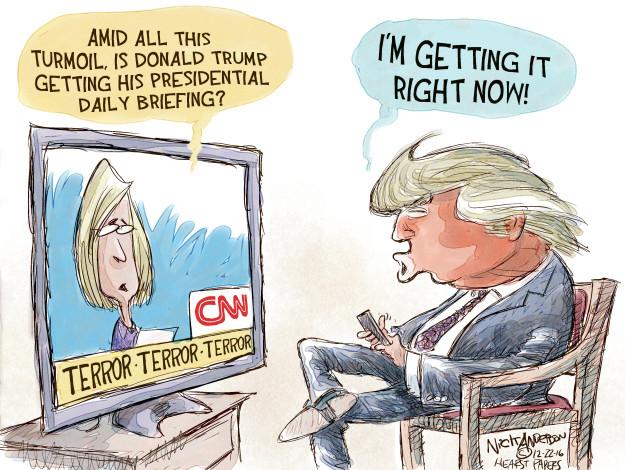 Nick Anderson  Nick Anderson's Editorial Cartoons 2016-12-22 intelligence