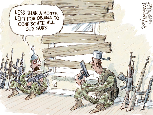 Less than a month left for Obama to confiscate all our guns!!