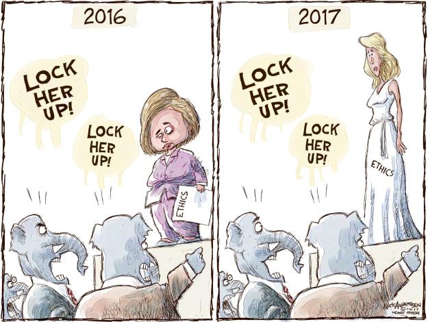 Nick Anderson  Nick Anderson's Editorial Cartoons 2017-01-04 presidential election