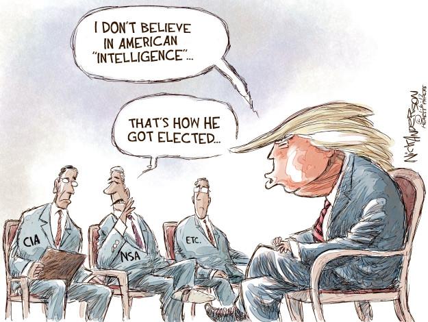 Nick Anderson  Nick Anderson's Editorial Cartoons 2017-01-06 intelligence