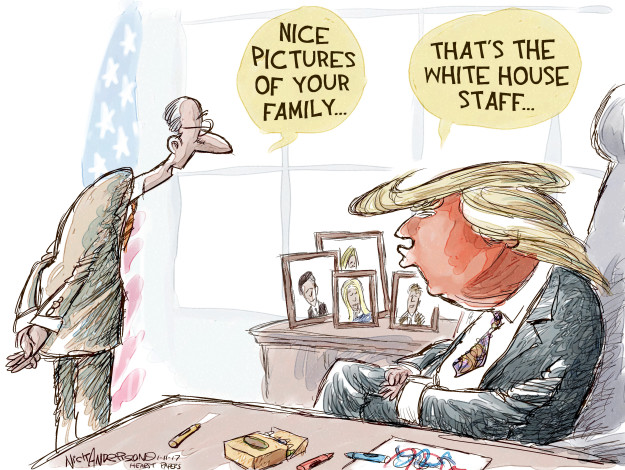 Nick Anderson  Nick Anderson's Editorial Cartoons 2017-01-11 appointment