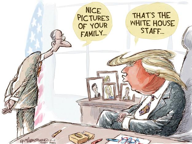 Cartoonist Nick Anderson  Nick Anderson's Editorial Cartoons 2017-01-11 son