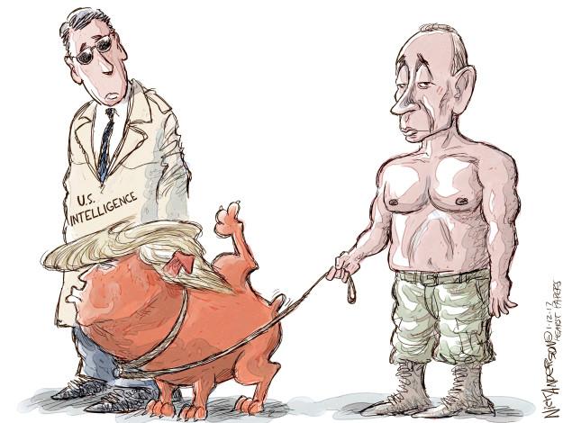 Cartoonist Nick Anderson  Nick Anderson's Editorial Cartoons 2017-01-12 Donald
