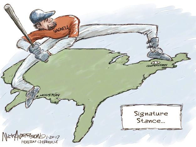 Cartoonist Nick Anderson  Nick Anderson's Editorial Cartoons 2017-01-20 Houston