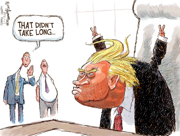 Cartoonist Nick Anderson  Nick Anderson's Editorial Cartoons 2017-02-01 Richard