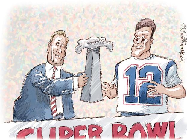 Cartoonist Nick Anderson  Nick Anderson's Editorial Cartoons 2017-02-06 player