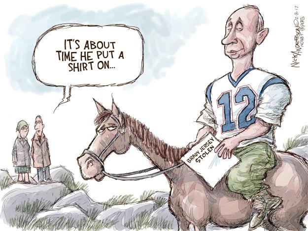 Cartoonist Nick Anderson  Nick Anderson's Editorial Cartoons 2017-02-08 player