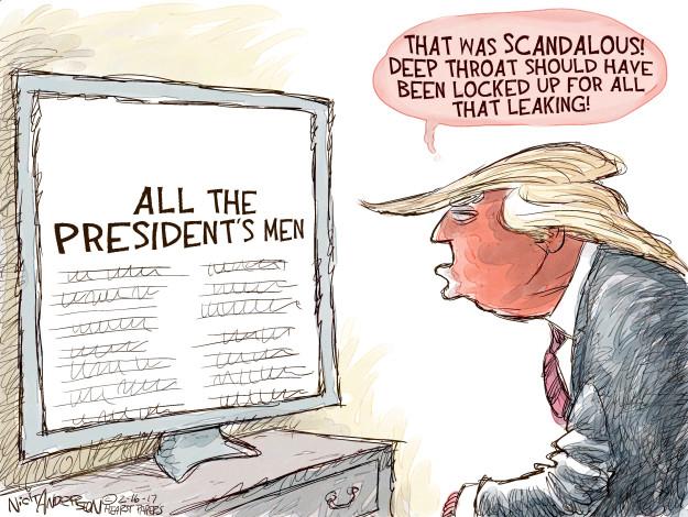 Nick Anderson  Nick Anderson's Editorial Cartoons 2017-02-16 intelligence