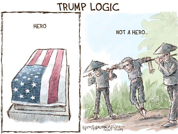 Cartoonist Nick Anderson  Nick Anderson's Editorial Cartoons 2017-03-02 Presidency