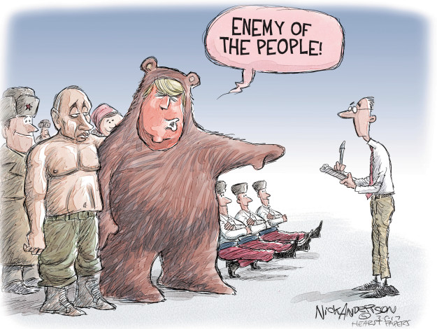 Enemy of the people!