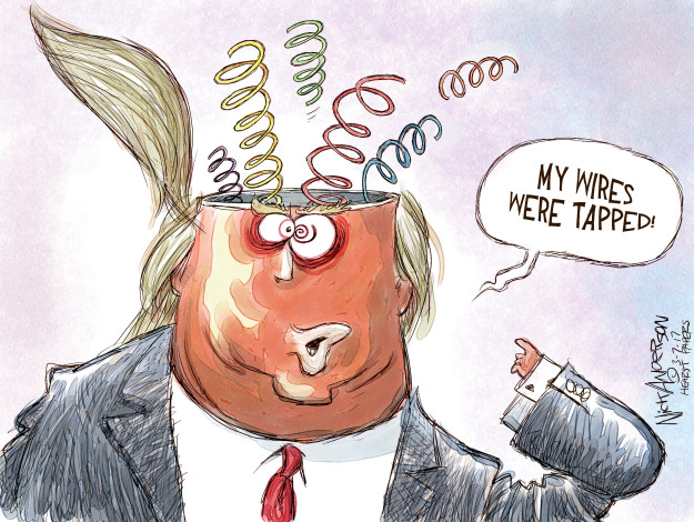 Cartoonist Nick Anderson  Nick Anderson's Editorial Cartoons 2017-03-07 accusation