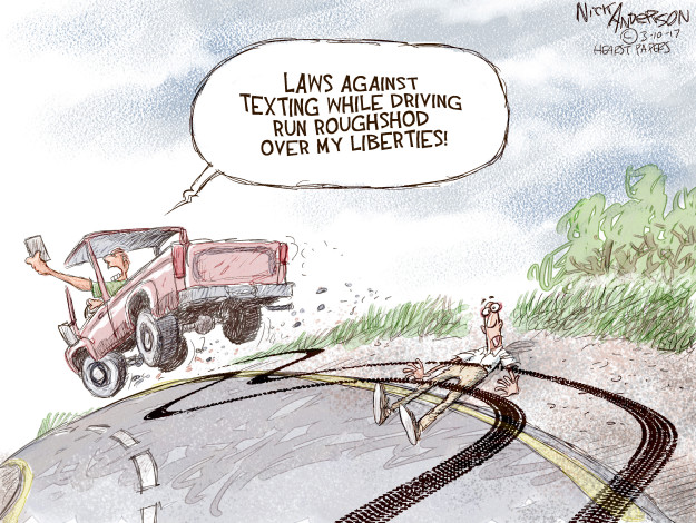 Cartoonist Nick Anderson  Nick Anderson's Editorial Cartoons 2017-03-10 automobile