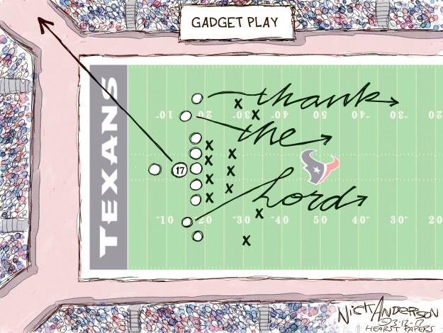 Cartoonist Nick Anderson  Nick Anderson's Editorial Cartoons 2017-03-12 football